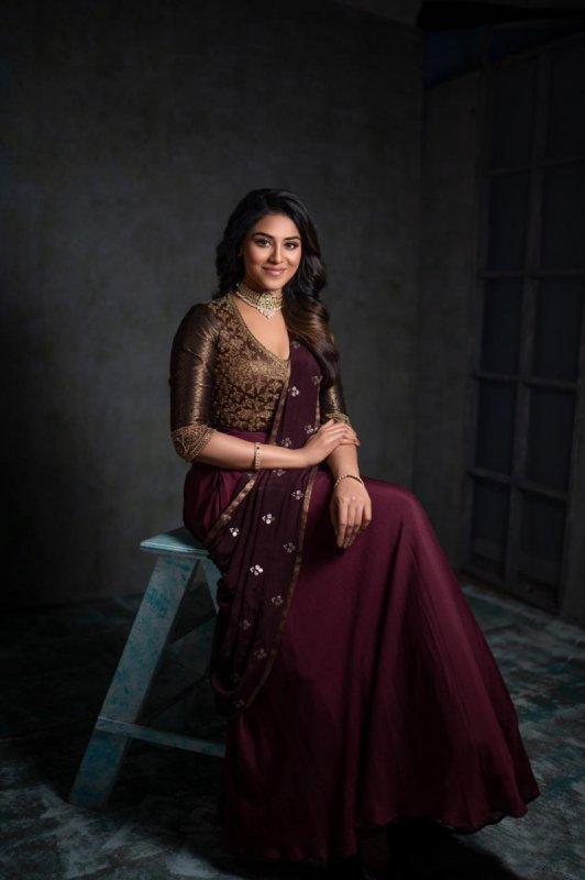 Indian Actress Indhuja Recent Images 8595