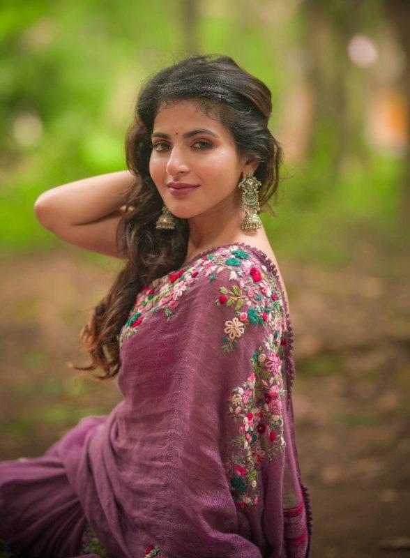 Indian Actress Iswarya Menon Latest Still 2616