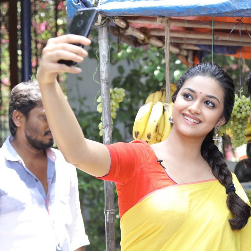 Keerthi Suresh Tamil Movie Actress Jul 2020 Pic 6465