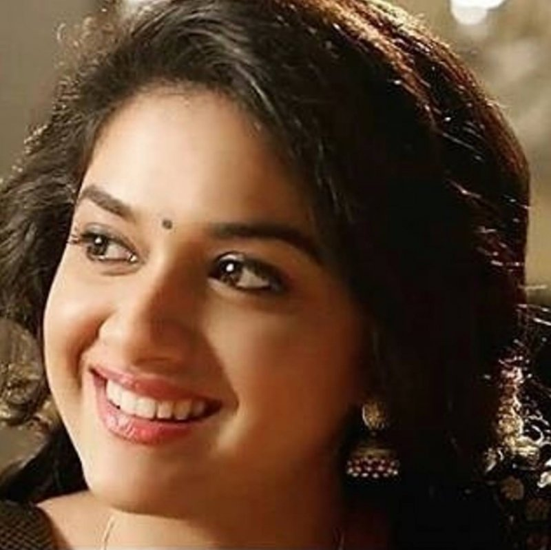 Recent Stills Keerthi Suresh Tamil Movie Actress 4080