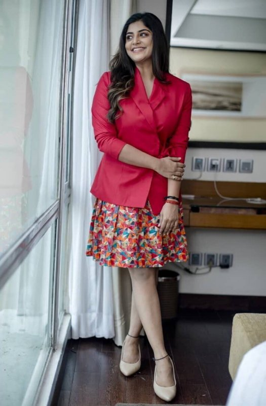 Manjima Mohan Movie Actress Jul 2019 Stills 9756