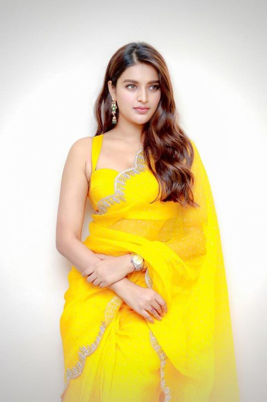 Actress Nidhhi Agerwal 2021 Album 1952