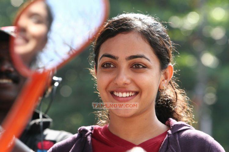 Actress Nithya Menon Stills 8201