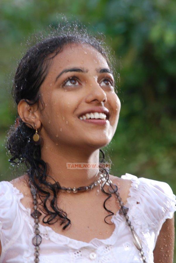 Actress Nithya Menon Stills 9886