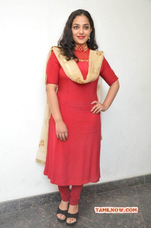 Apr 2015 Still Tamil Actress Nithya Menon 2571