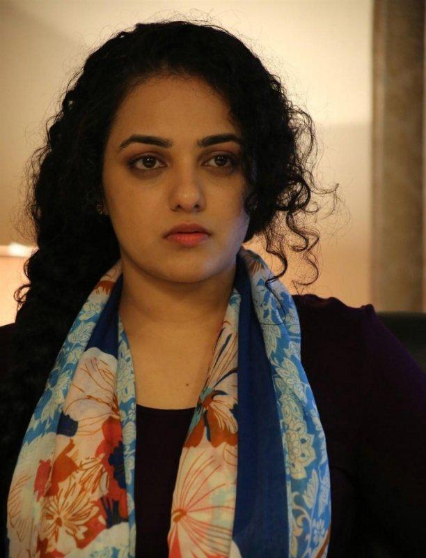 Tamil Heroine Nithya Menon Jan 2020 Picture 734