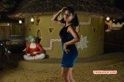 Actress Pic Oviya Dance In Blue Dress 193
