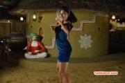Oviya Dance In Blue Dress Actress New Photo 145