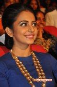 Actress Still Rakul Preet Singh Nannaku Prematho Audio Release 292