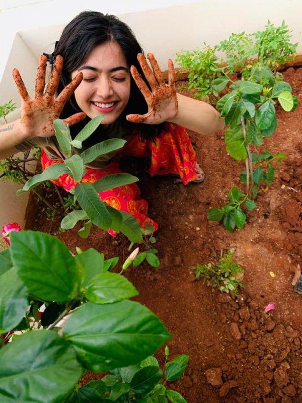 Tamil Actress Rashmika Mandanna 2020 Albums 1837