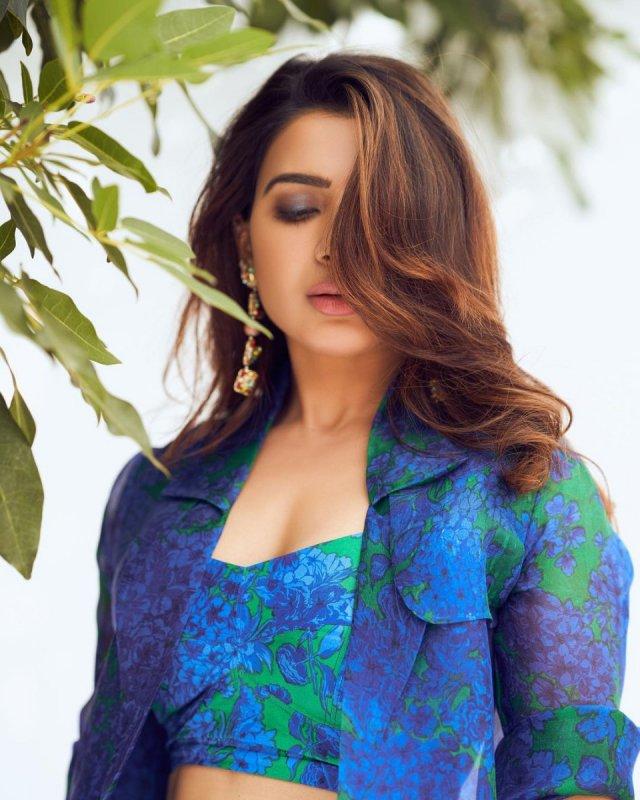 Indian Actress Samantha Stills 9080