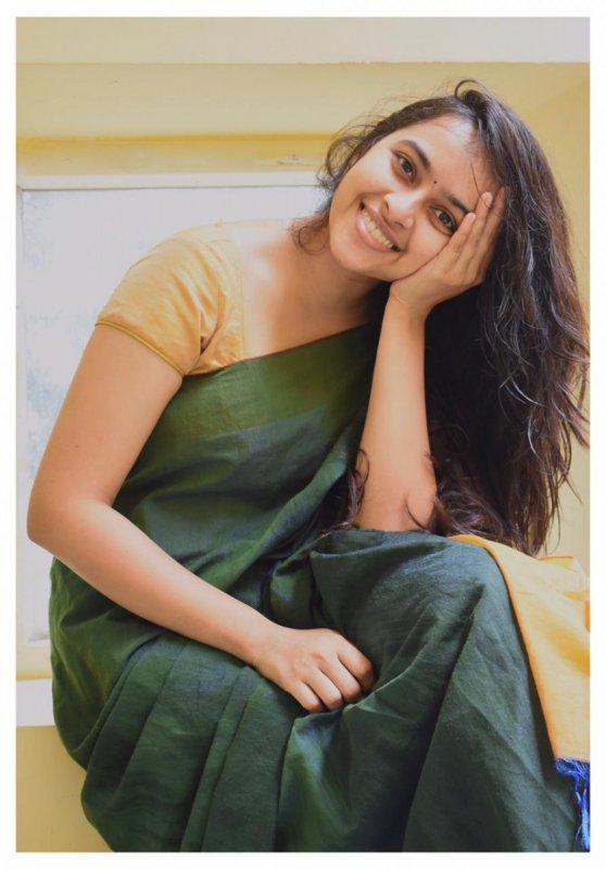 Sri Divya South Actress New Still 7703