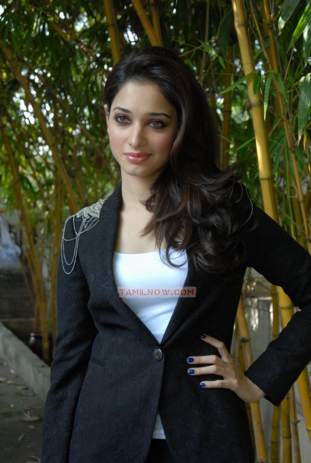 Tamanna Bhatia Black Dress