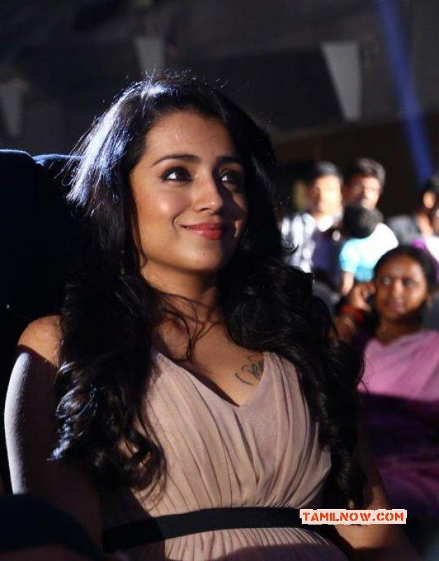 Actress Gallery Trisha Thoongavanam Audio Launch 474