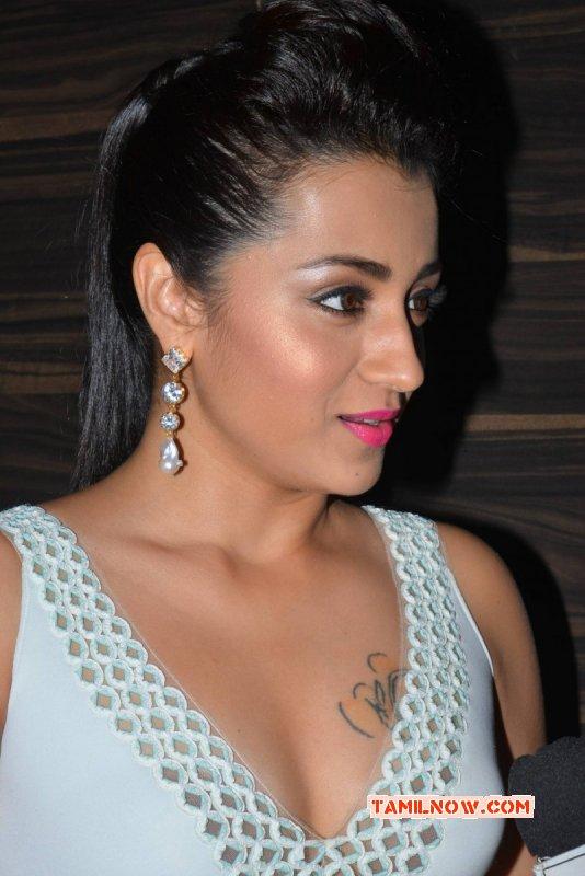 Indian Actress Trisha Krishnan Latest Still 4607
