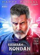 Chiyaan Vikram In Kadaram Kondan Teaser Poster