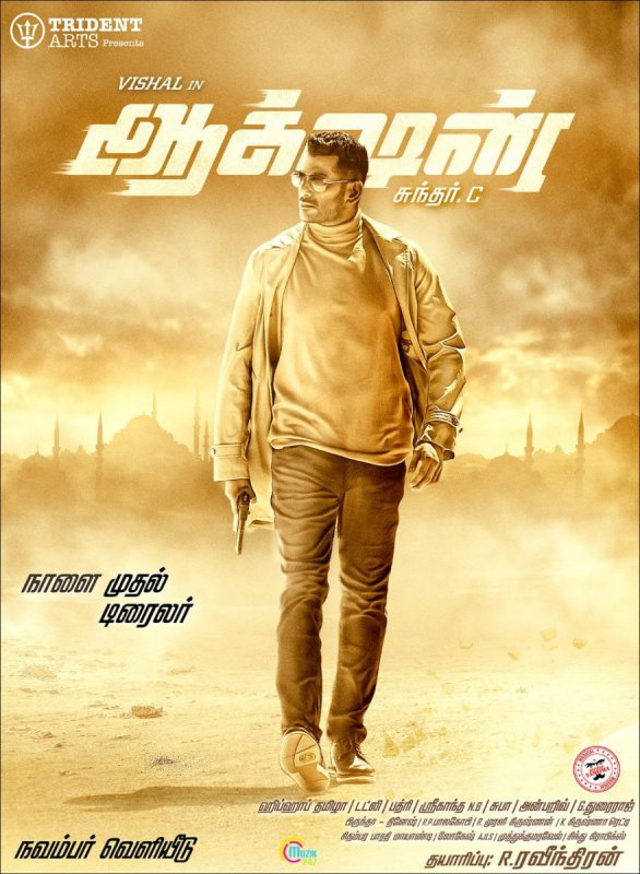 Vishal Film Action Poster 54