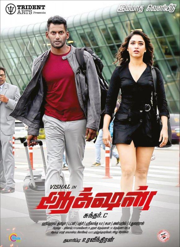 Vishal Tamanna Action Movie Poster 65