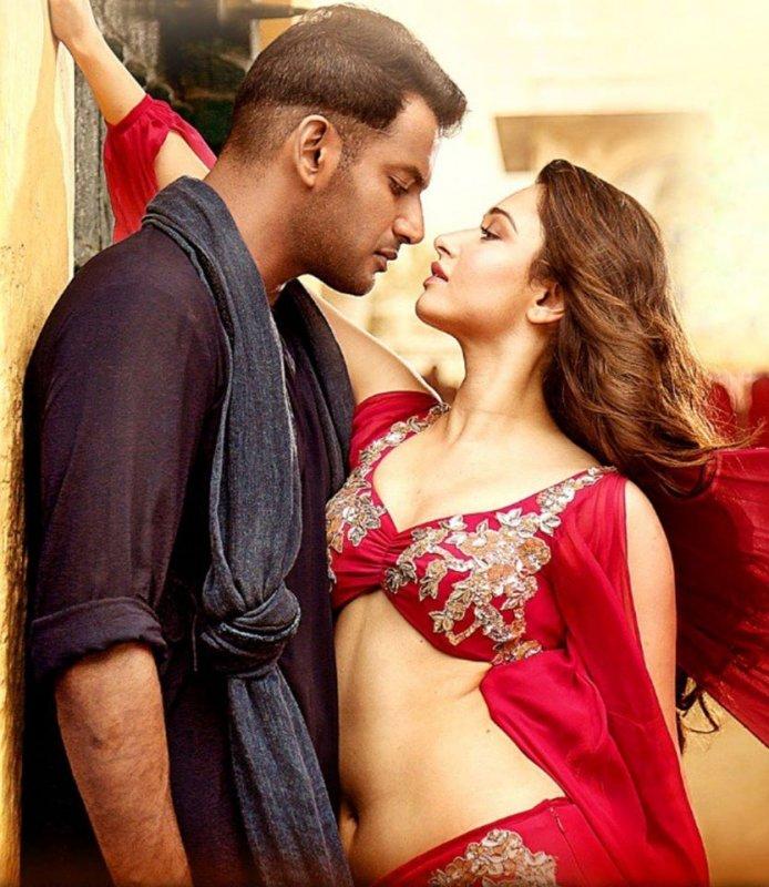 Vishal Tamanna Hot Still Action Movie 319