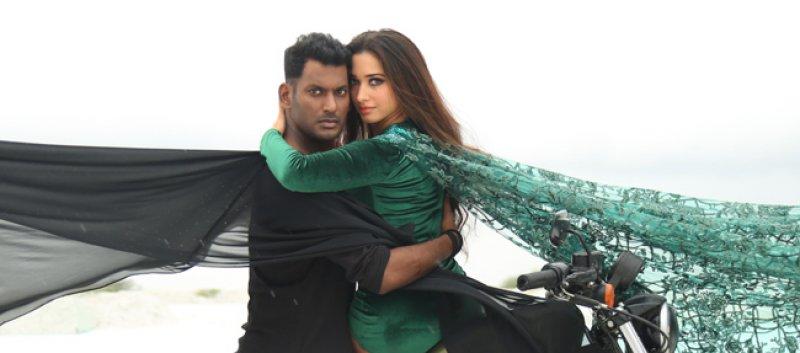 Vishal Tamanna Movie Action Latest Pic 135