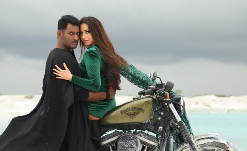 Vishal Tamanna Movie Action Movie Wallpaper 476