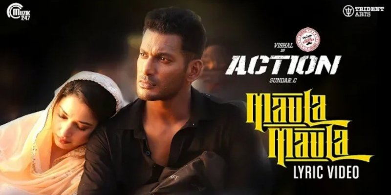 Vishal Tamanna Movie Action Poster 848