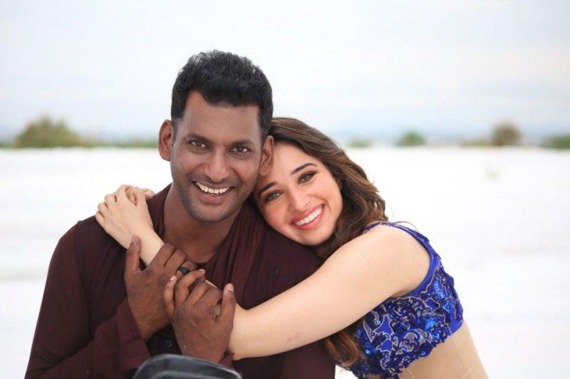 Vishal Tamannah Action Tamil Movie 773