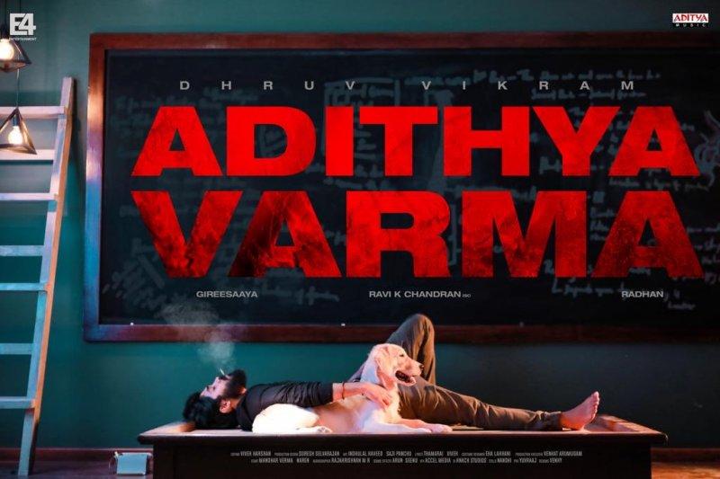 Adithya Varma Movie Latest Poster 384
