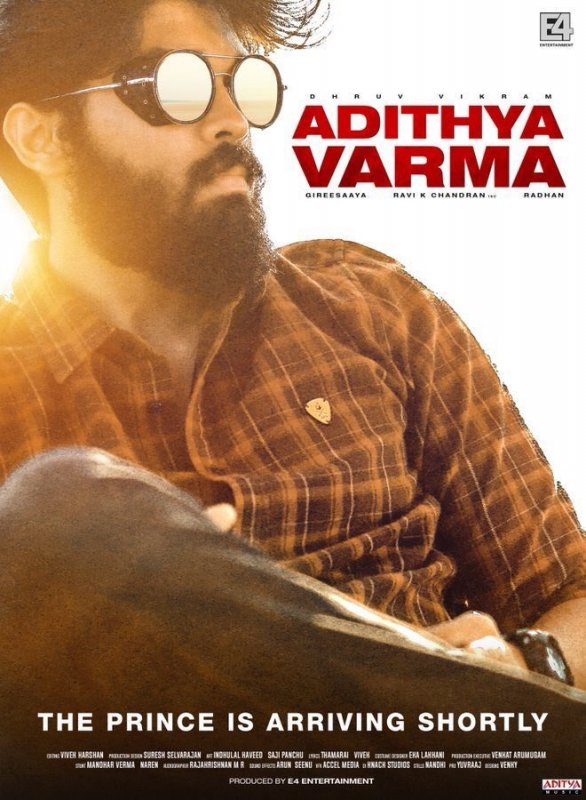 Adithya Varma New Poster 972