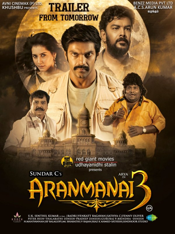 Aranmanai 3 Tamil Movie Latest Still 7282