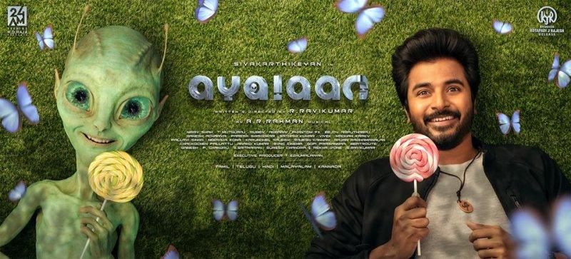 Movie Ayalaan First Look Poster Siva Karthikeyan 784