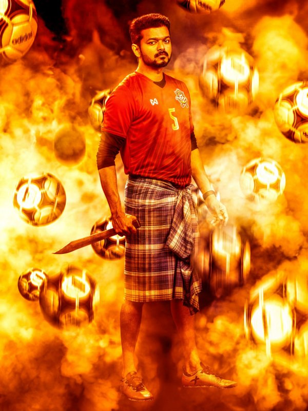 Vijay New Still Bigil 422