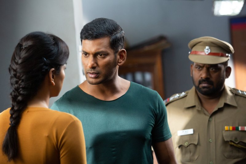 Vishal Movie Chakra Film 560