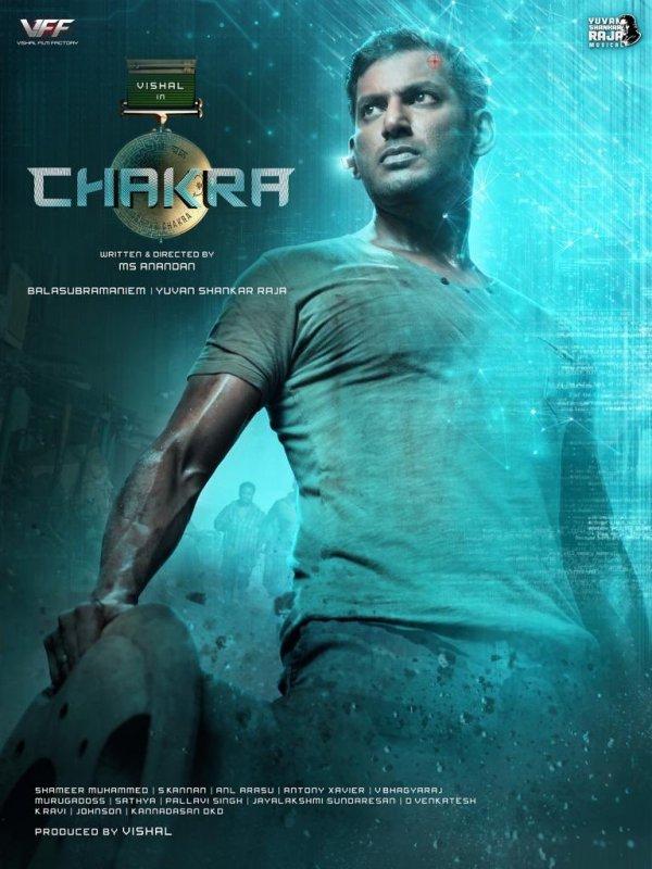 Vishal New Film Chakra Poster 148