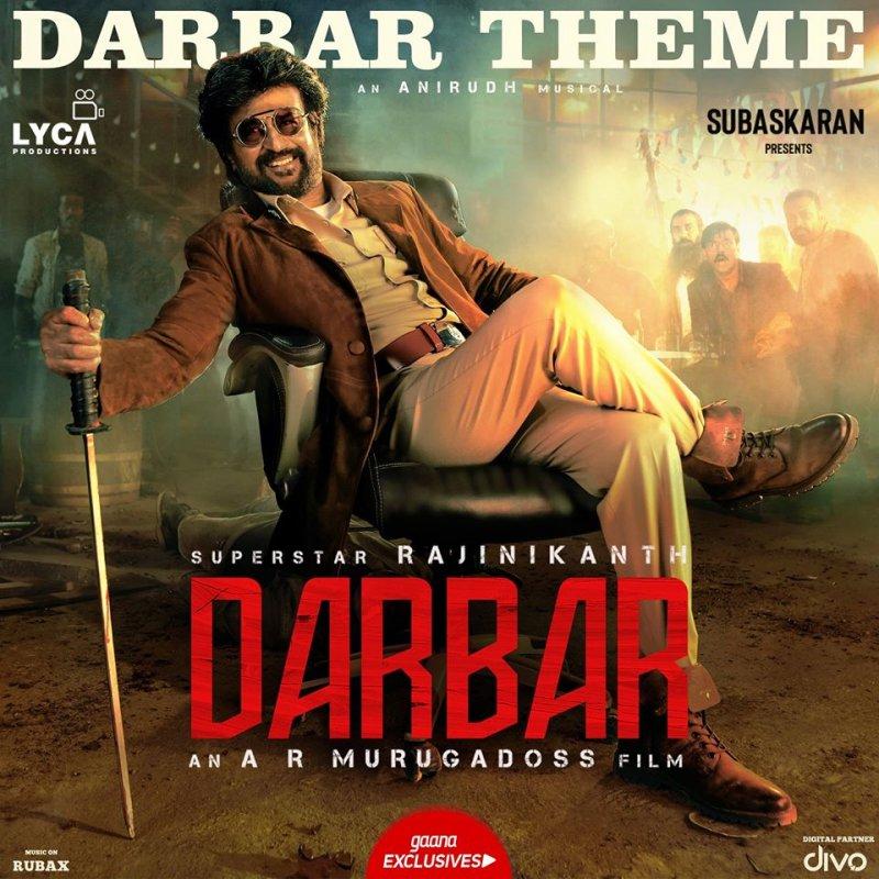 Darbar Rajinikant Poster 959