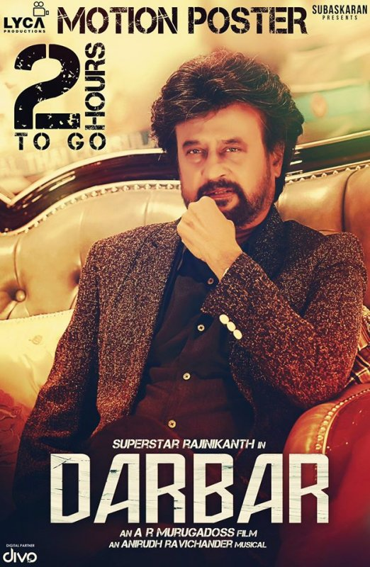 Darbar Rajinikant Poster Release 239