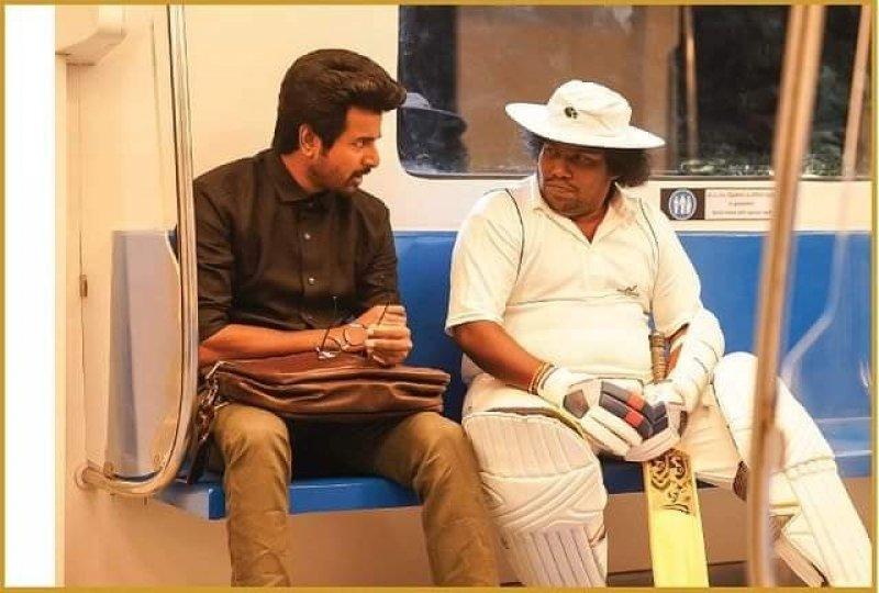 Siva Karthikeyan And Yogi Babu In Doctor Movie 55