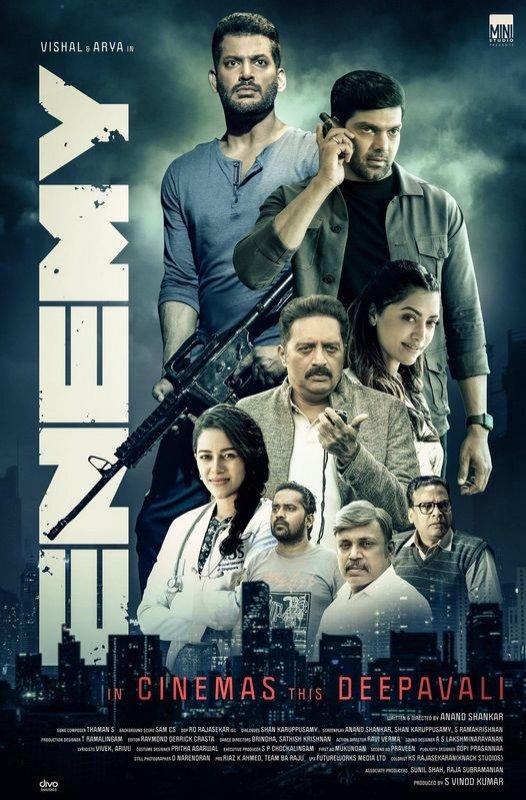 Enemy Tamil Cinema Recent Stills 7462