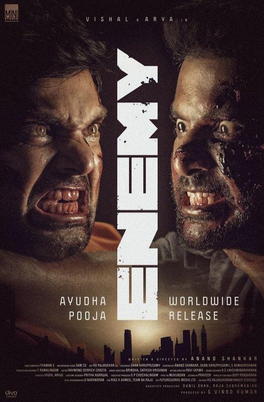 Tamil Movie Enemy 2021 Images 4981