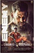 Vishal Arya Movie Enemy Release On Diwali Movie Wallpaper 339