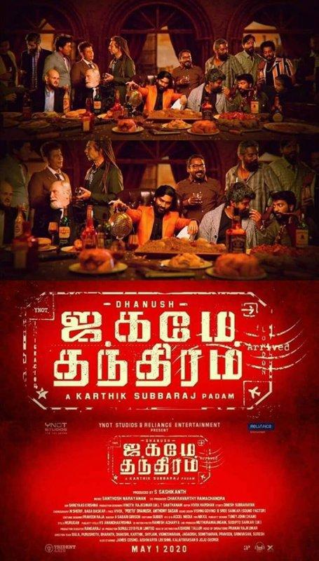 Dhanush New Movie Titled Jagame Thanthiram 994