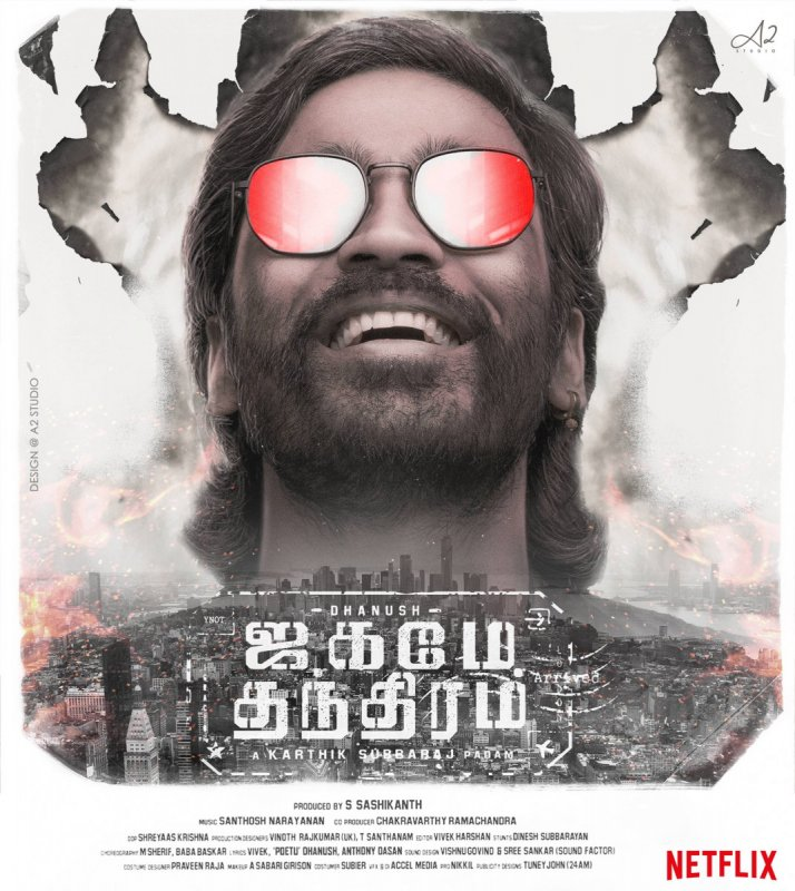 Tamil Cinema Jagame Thanthiram Latest Pics 6874