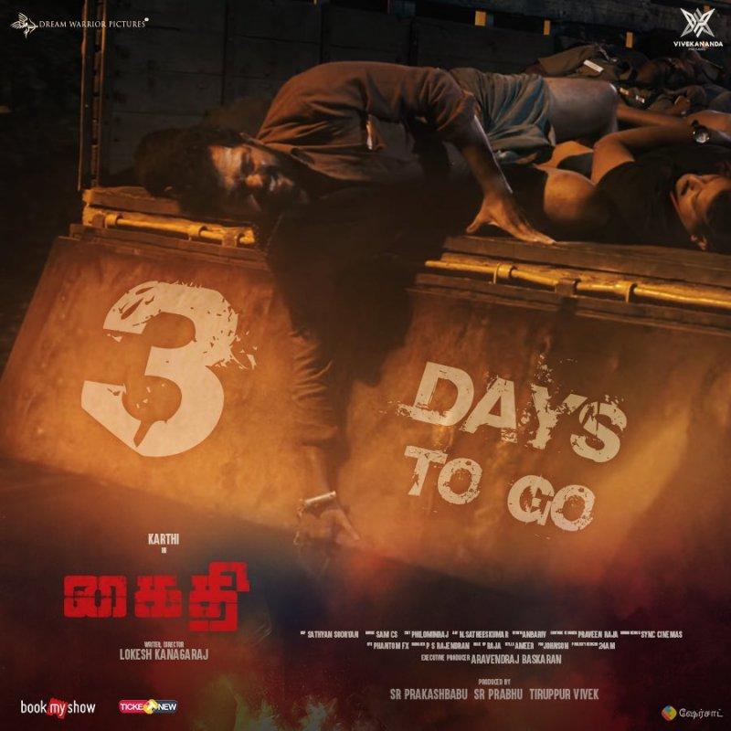 Kaithi Release Poster New Photo 620
