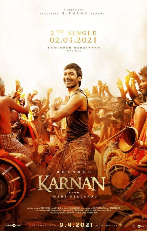 2021 Wallpaper Tamil Movie Karnan 9380