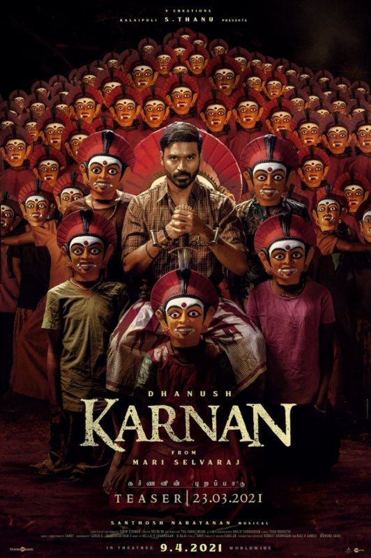 Dhanush Movie Karnan Poster 369