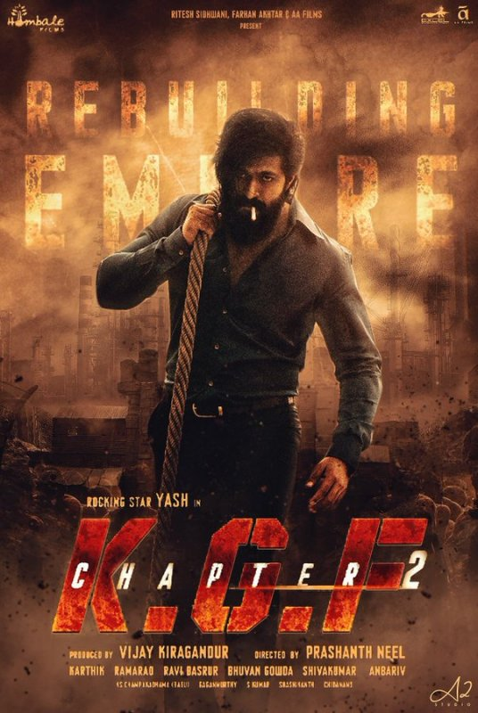 Latest Wallpaper Kgf Chapter 2 Movie 9667