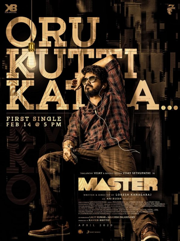 Thalapathy Vijay New Movie Master Latest Poster 370