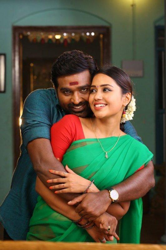 Vijay Sethupathi Nivetha Pethuraj Film Sanga Tamizhan 14