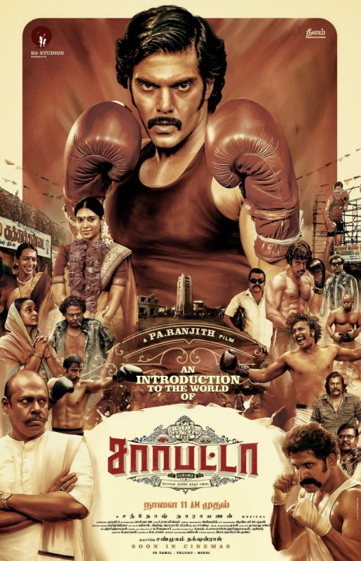 Sarpatta Parambarai Cinema Latest Wallpapers 2099