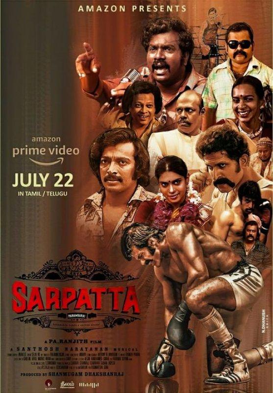 Tamil Cinema Sarpatta Parambarai 2021 Albums 7698